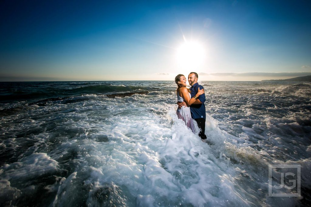 Engagement Photo Blooper
