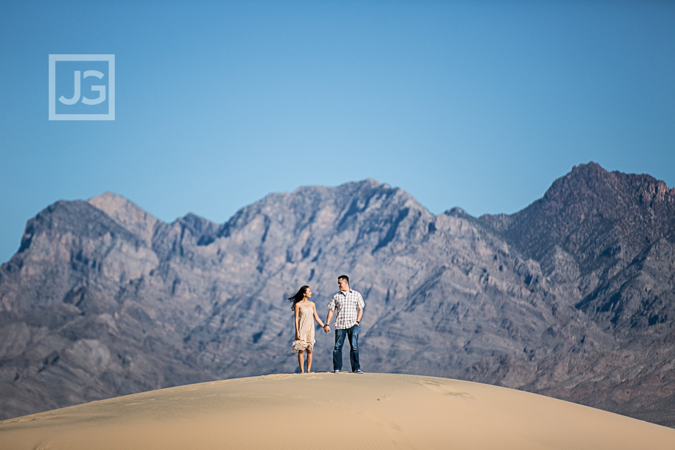 Mojave Engagement Photography