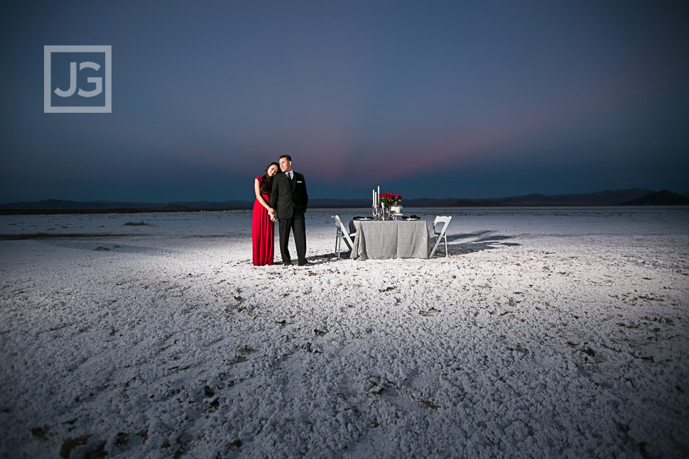Mojave Salt Flat Photo