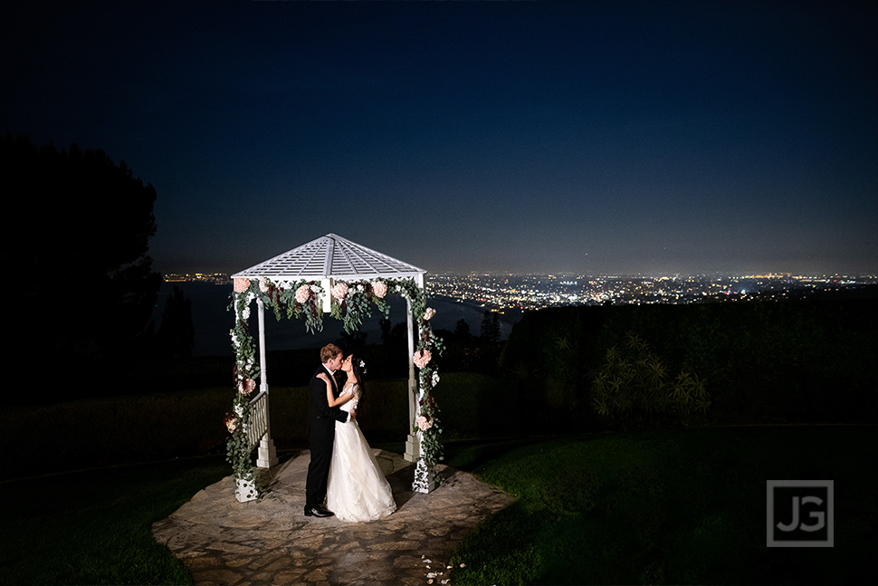 La Venta Inn Wedding View at Night