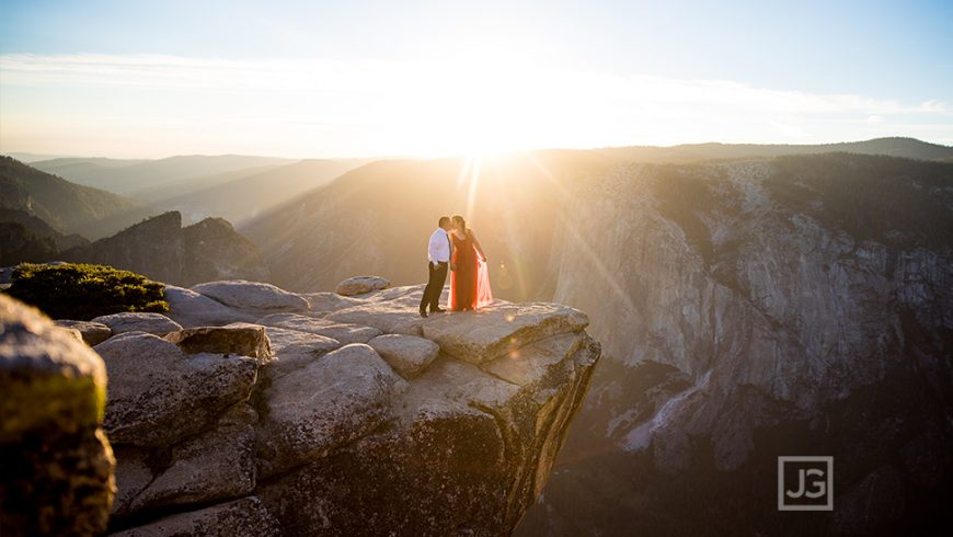 Yosemite National Park Engagement Photography