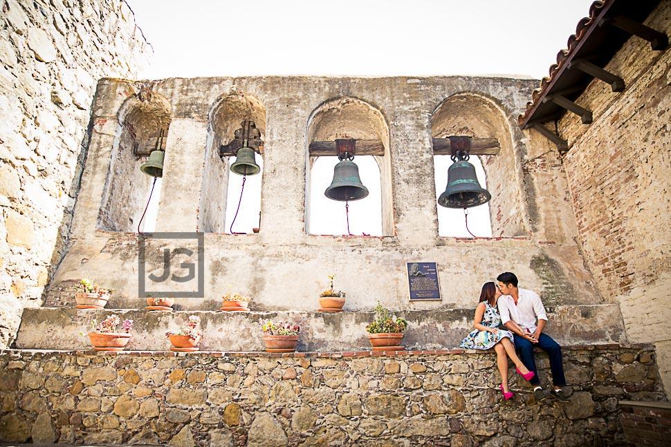 Engagement Photography Mission San Juan Capistrano