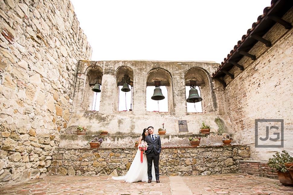 Mission San Juan Capistrano Wedding Photos
